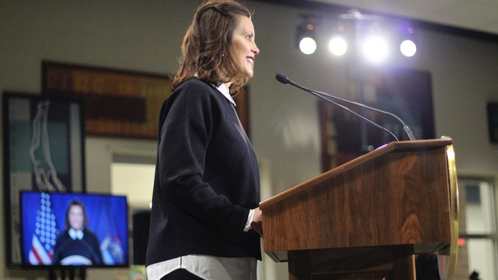 Sotu Response Whitmer Says Trump S Numbers Don T Tell Entire Economic Story Npr News Ideastream