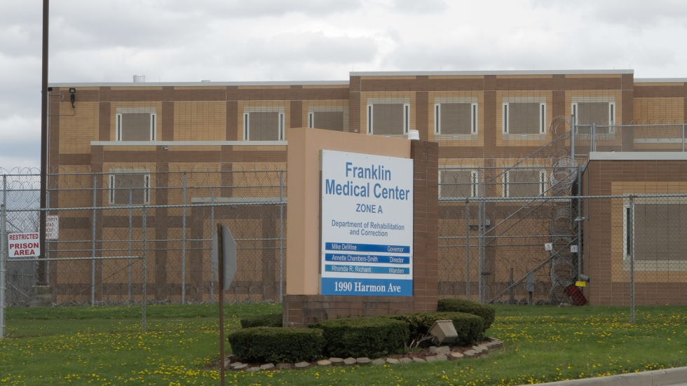 Franklin Medical Center is one of the state prison facilities hit by the coronavirus.