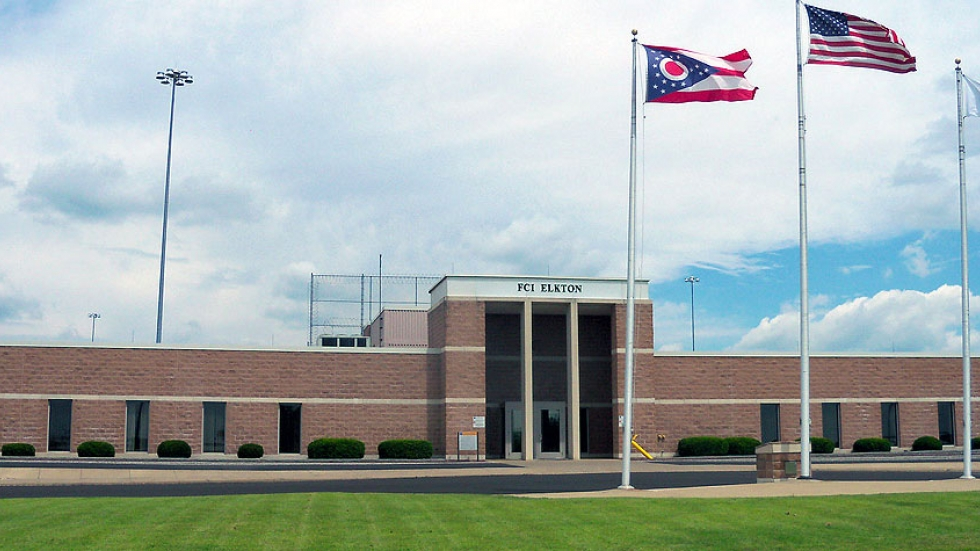 Federal Correctional Institution Elkton in Lisbon, Ohio.