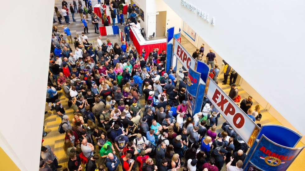 Arnold Sports Festival at the Great Columbus Convention Center in 2018.