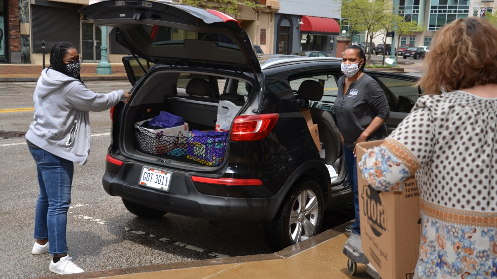 Stark County THRIVE hopes to do another supply drop off soon.
