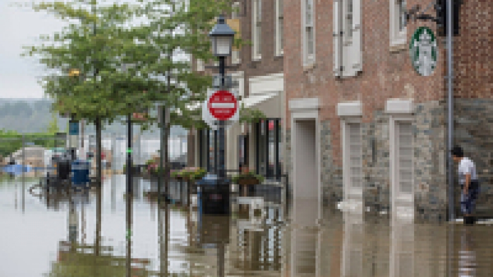 Heavy rainstorms like the one that caused the 2018 flooding in Alexandria, Va. are getting more and more common. Meanwhile, sea level rise and wetter, more powerful hurricanes are threatening coastal towns.
