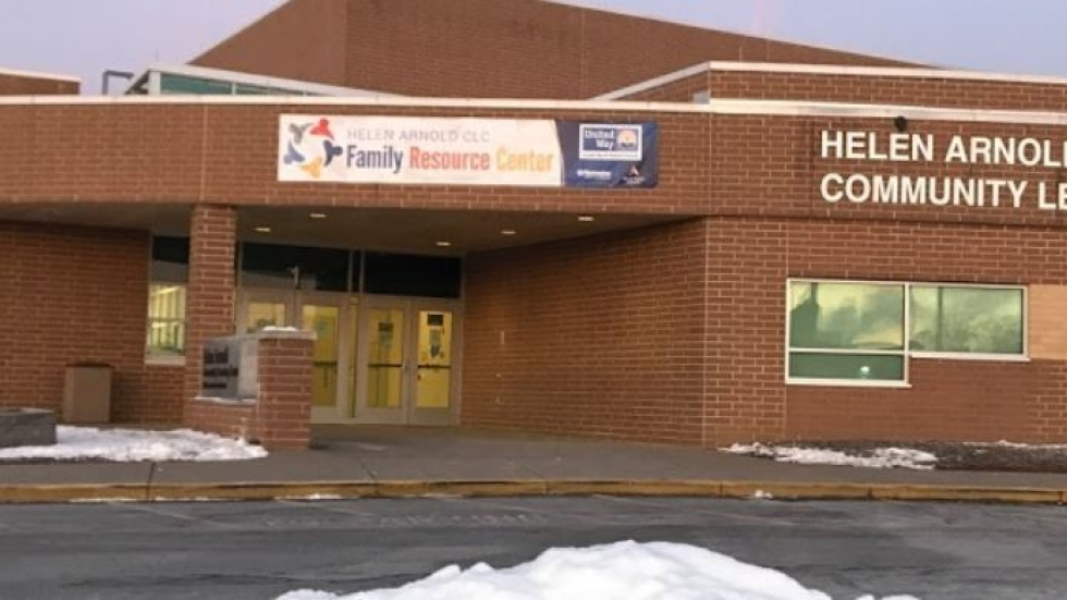 Helen Arnold Community Learning Center is a hub for wraparound services for Akron Public Schools during the COVID-19 pandemic.