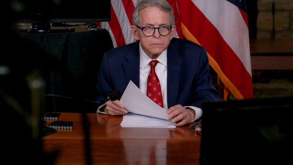 Gov. Mike DeWine signs SB263 into law on January 6, 2021.