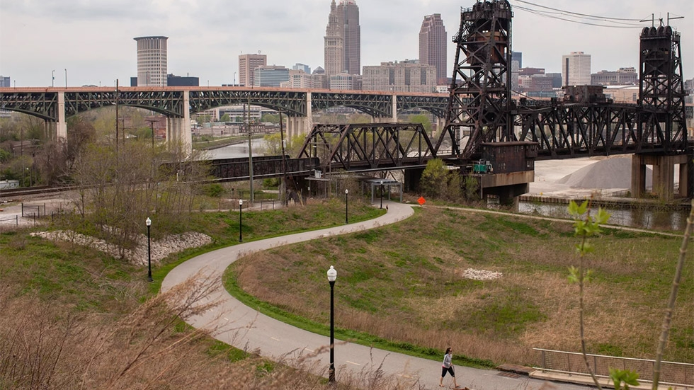 The city of Cleveland is trying to address two big problems at the same time: climate change and racial and economic disparities.