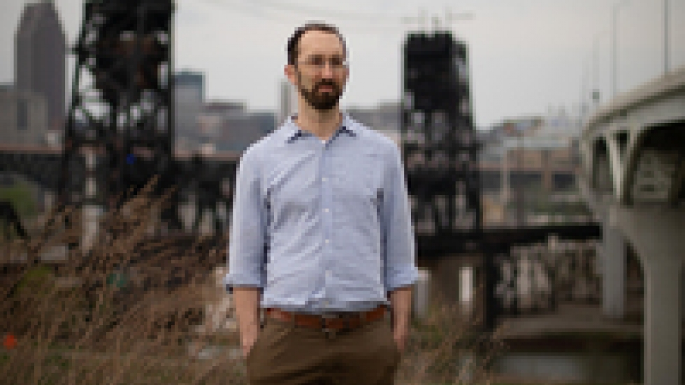 Matt Gray, Cleveland's former chief of sustainability, helped lead the effort to rewrite the city's climate action plan.