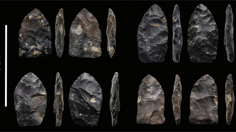 The team at Kent State University produced high resolution photos of all 164 spear points in the collection to share with researchers around the world.