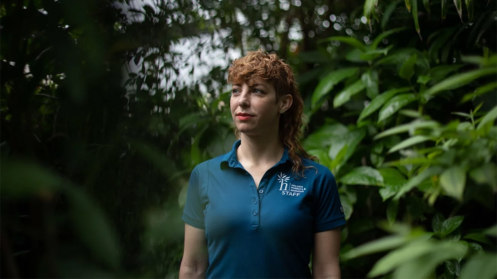 """Sandra Albro, director of community partnerships at Holden Forests and Gardens, says Cleveland is losing tree cover, but """"the bigger problem is that in Cleveland, our tree canopy is not equitably distributed."""""""