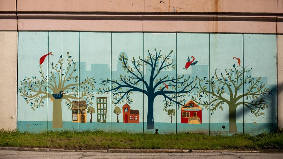 """Cleveland has been known as """"Forest City,"""" but lost much of its tree canopy. It's now trying to restore it."""