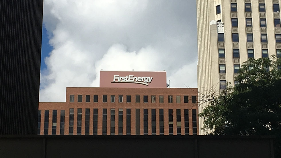 FirstEnergy headquarters in Akron