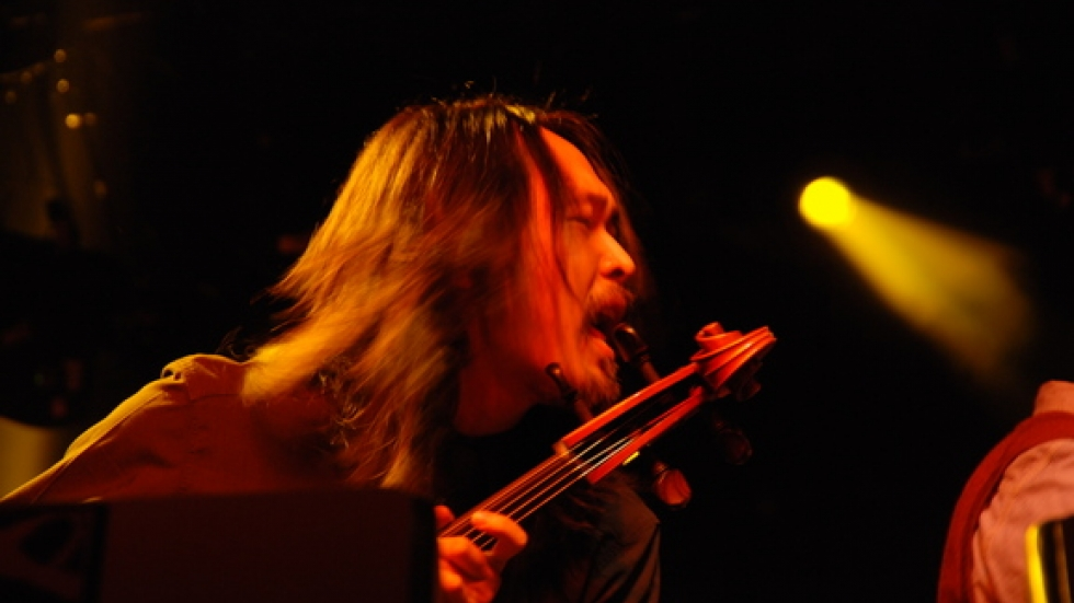 Cellist Joe Kwon often adds a classical touch to an Avett performance.
