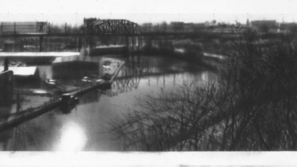 Study for Burning River Intaglio, 2000. The Cleveland Museum of Art. Photo by Laurence Channing