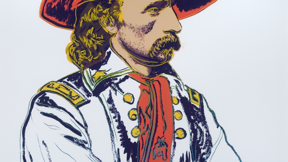<cite>Custer</cite> by Andy Warhol