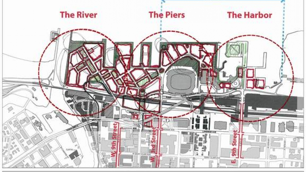 Phase One of proposed changes to Port property
