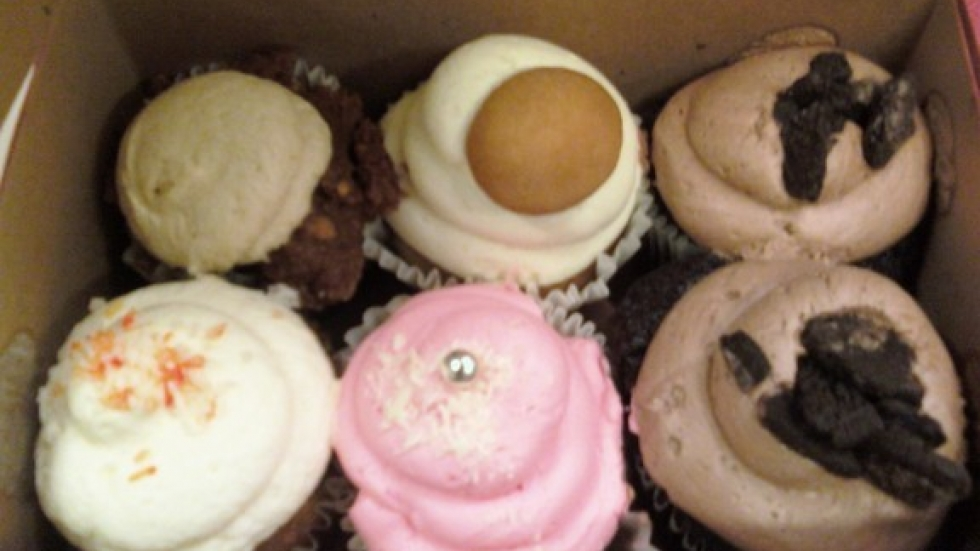 Cupcakes from A Cookie & A Cupcake in Tremont