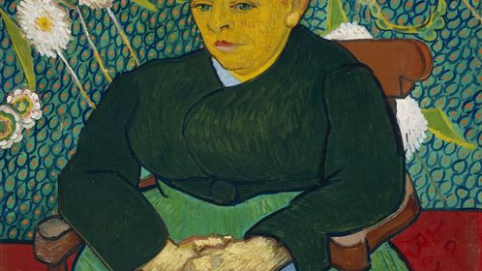Madame Roulin Rocking the Cradle (La Berceuse), January 1889. Vincent van Gogh, Art Institute of Chicago