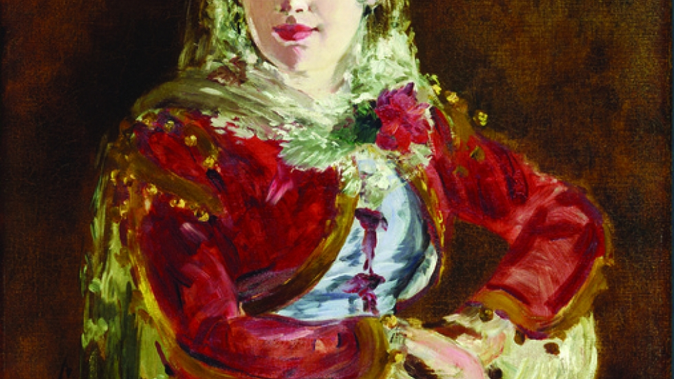 Édouard Manet (French, 1832–1883), Portrait of Emilie Ambre as Carmen, 1880.
