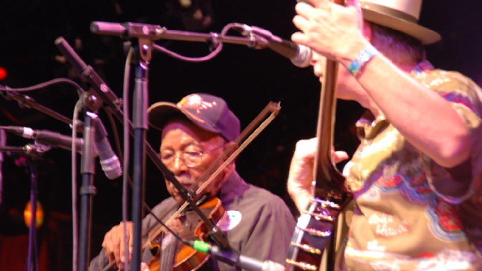 Joe Thompson – is the teacher and inspiration for the Carolina Chocolate Drops
