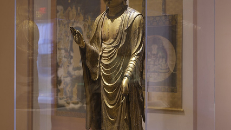 CMA Japanese Art Gallery: Standing Buddha, Courtesy Cleveland Museum of Art