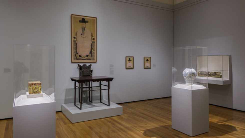 CMA Korean Art Gallery, Courtesy Cleveland Museum of Art