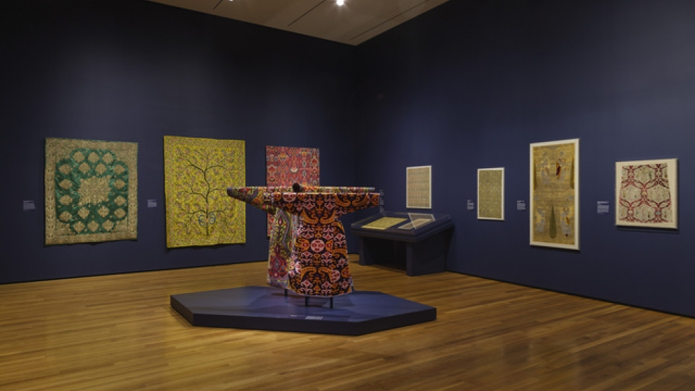 CMA Textile Art Gallery, Courtesy Cleveland Museum of Art