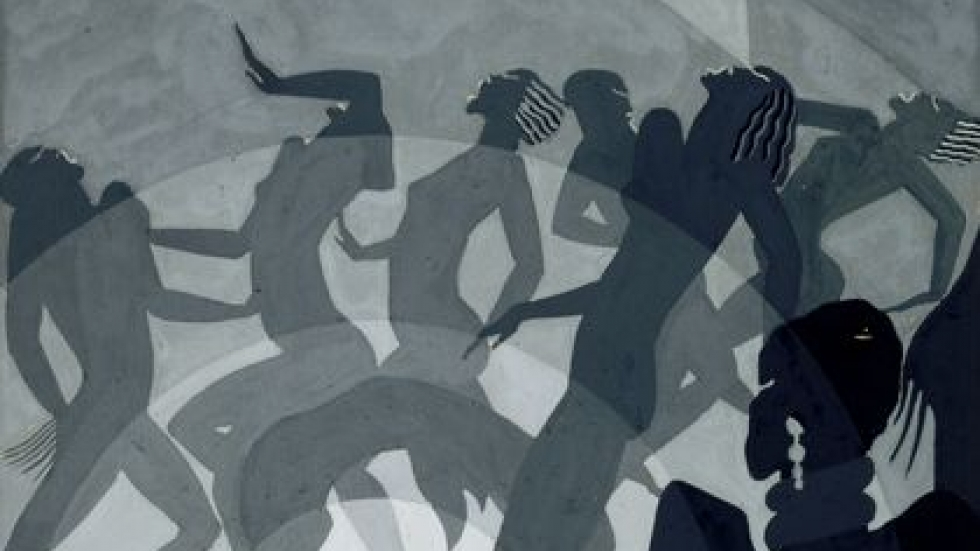 Congo, about 1928. Aaron Douglas (American, 1899-1979) North Carolina Museum of Art
