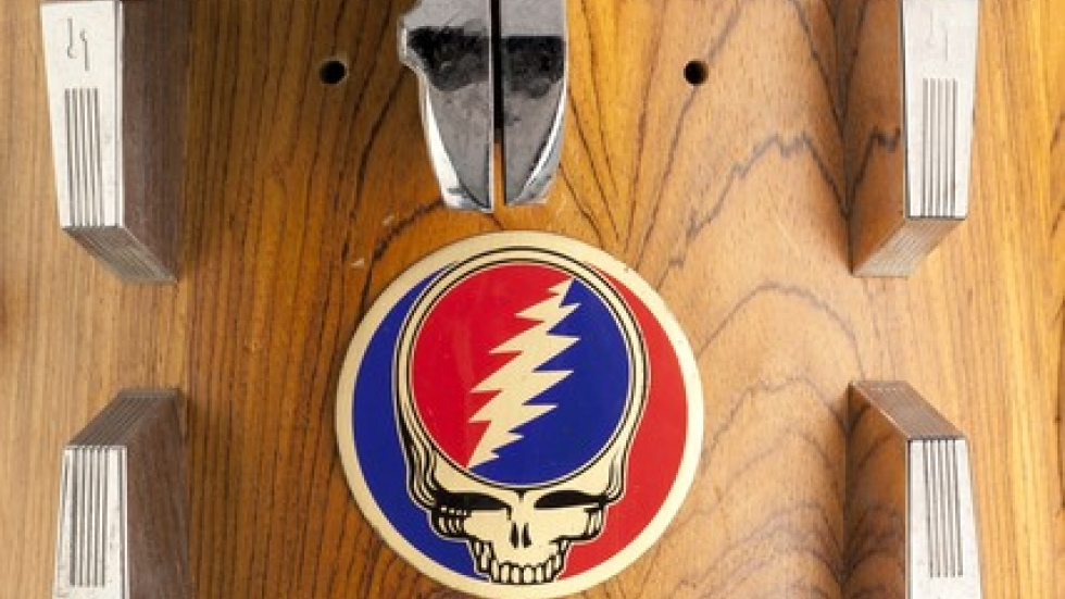 Grateful Dead Mickey Hart Drum Art Steal Your Face