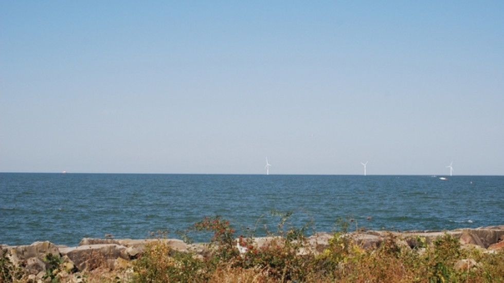 Rendering of how turbines might look from Edgewater Park.