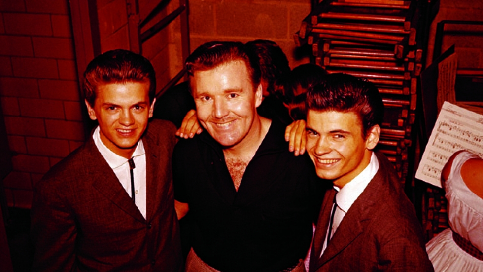 Everly Brothers and Tommy Edwards