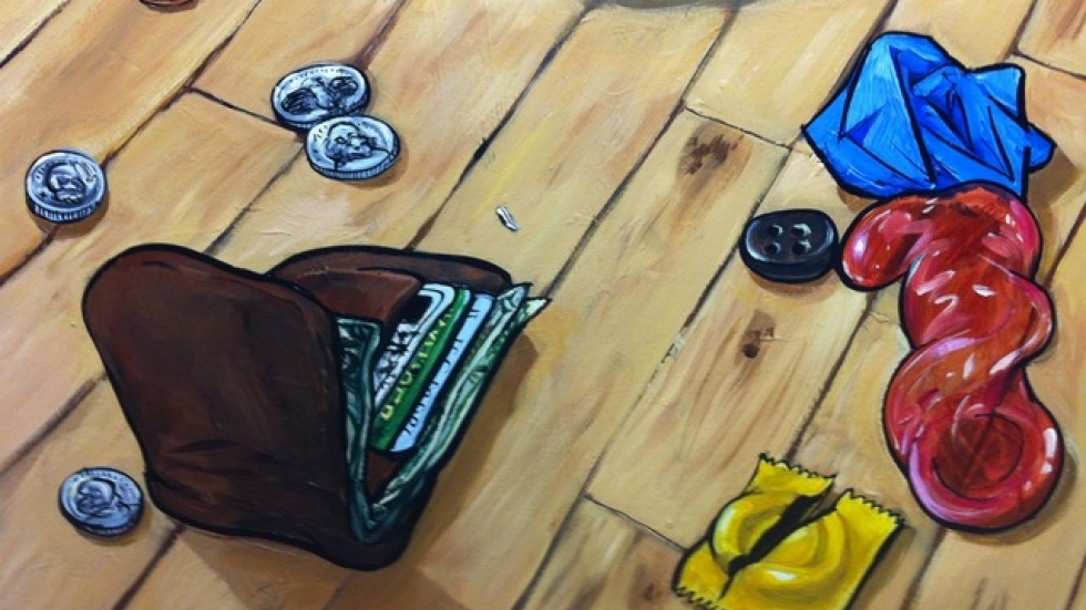 Harris Johnson, Things on my floor, 5/2012