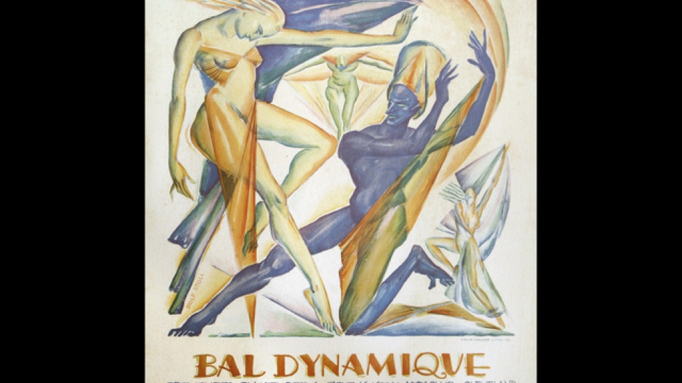 'Bal Dynamique Presented by Members of the Kokoon Arts Club' Rolf Stoll, 1929