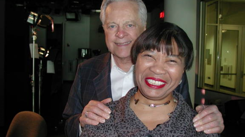 Dee Perry and Robert Osborne