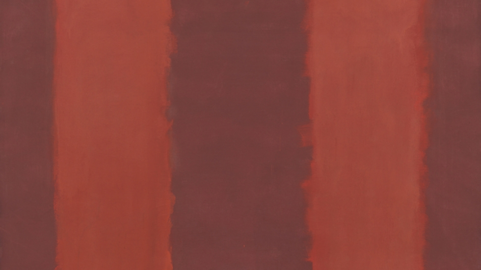 Untitled (Seagram Mural Sketch), 1958. Mark Rothko (American, b. Russia, 1903–1970). Oil on canvas; National Gallery of Art, Washington D.C.