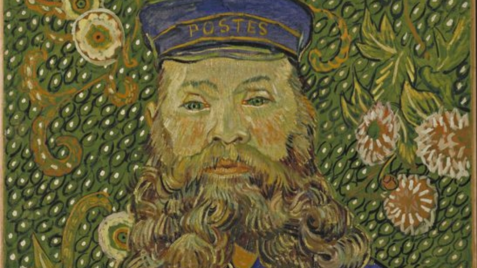 Portrait of the Postman Joseph Roulin, April 1889. Vincent van Gogh, The Museum of Modern Art, NY