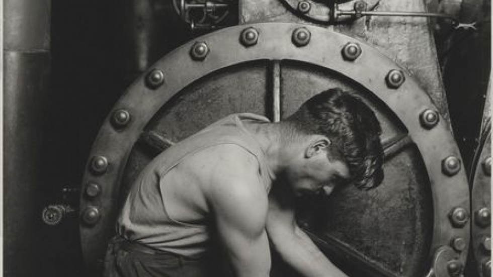 Power House Mechanic, 1920-21. Lewis Hine (American, 1874-1940) Brooklyn Museum