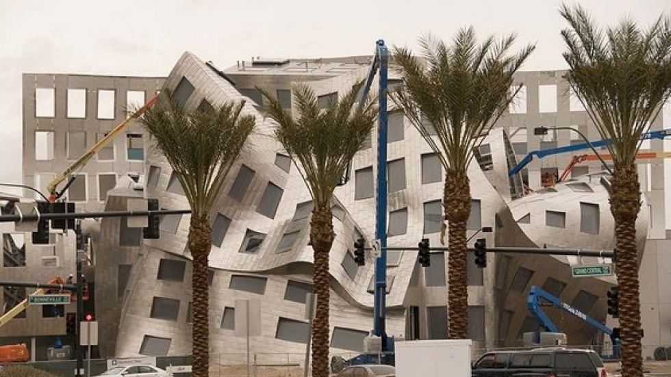 The Cleveland Clinic Lou Ruvo Center for Brain Health, A $100 million facility designed by Frank Gehry