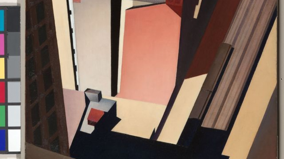 Church Street El, 1920. Charles Sheeler (American, 1883-1965) The Cleveland Museum of Art