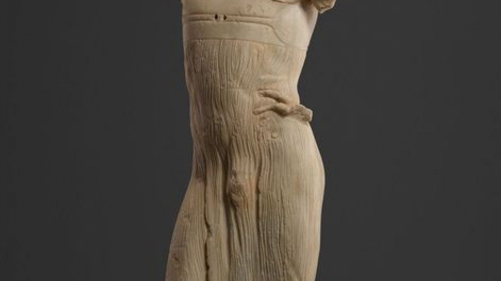 Statue of a Youth (The Mozia Charioteer), 470–460 bc
