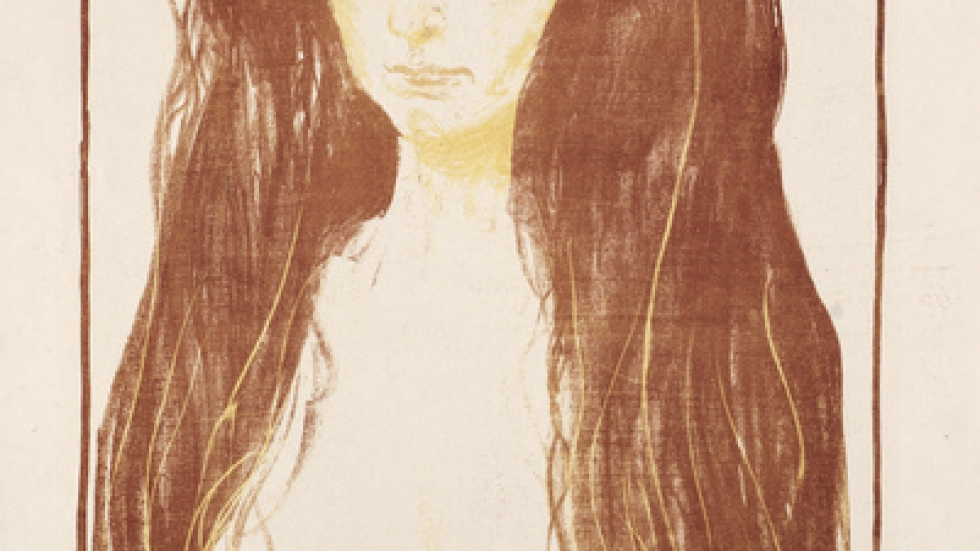 Sin, 1900. Edvard Munch (1863-1944). The Cleveland Museum of Art, Andrew R. and Martha Holden Jennings Fund