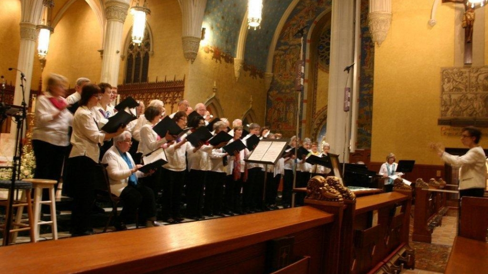 [photo: St. Noel Parish Choir / by Gaye Ramstrom]