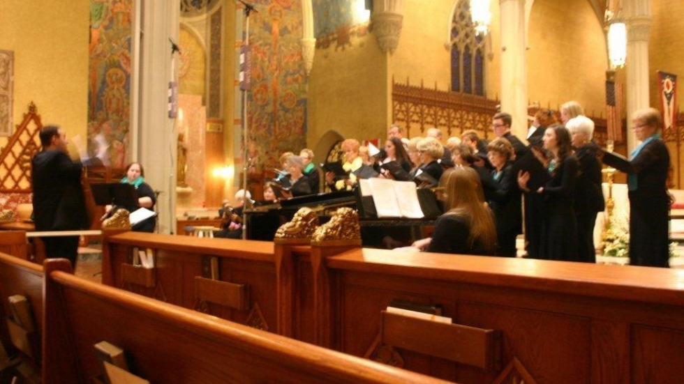 [photo: St. Peter Parish Traditional Choir / by Gaye Ramstrom]