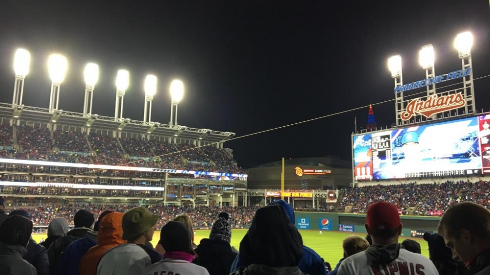 The View From the Outfield - Photo Tom Goldman NPR