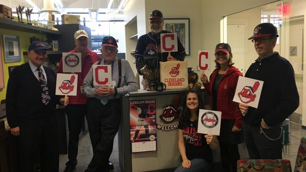WCLV Staff Rooting for the Indians