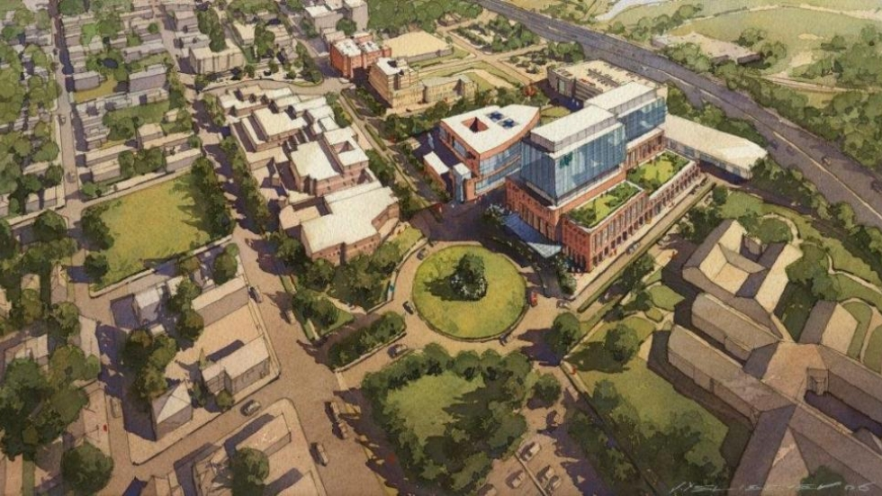 Hospital officials want to issue bonds to finance the $855 million project