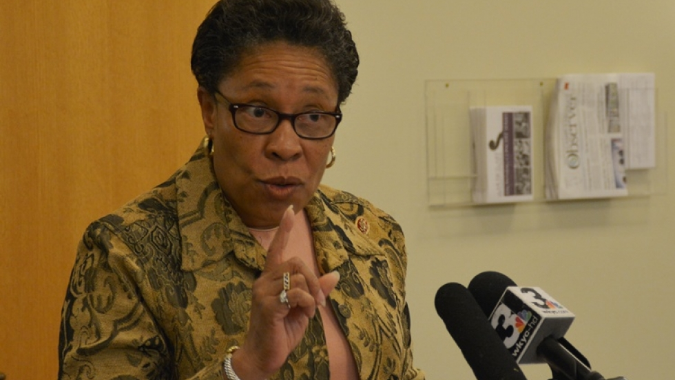 U.S. Rep. Marcia Fudge advocates for raising the minimum wage at an event in 2014.