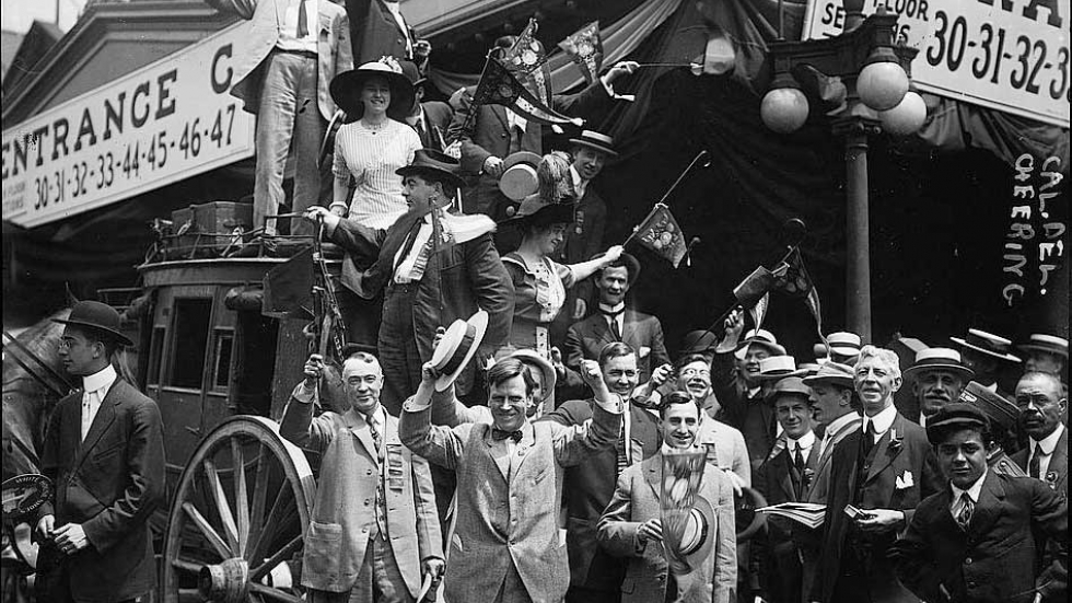 Conventioneers Come To Cleveland in 1924