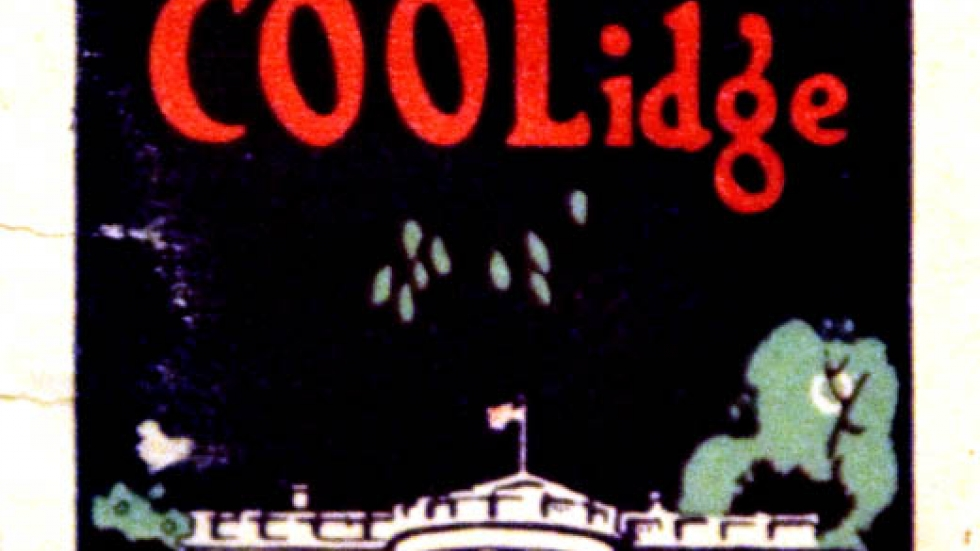 Coolidge campaign poster (From: Ohio History Connection)