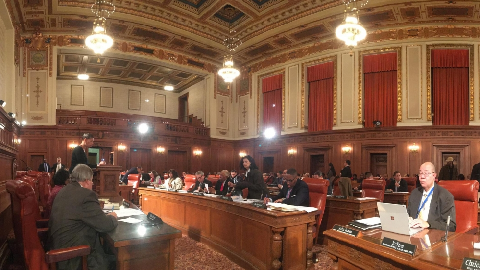 Cleveland City Council on Monday held a committee meeting to discuss the budget.