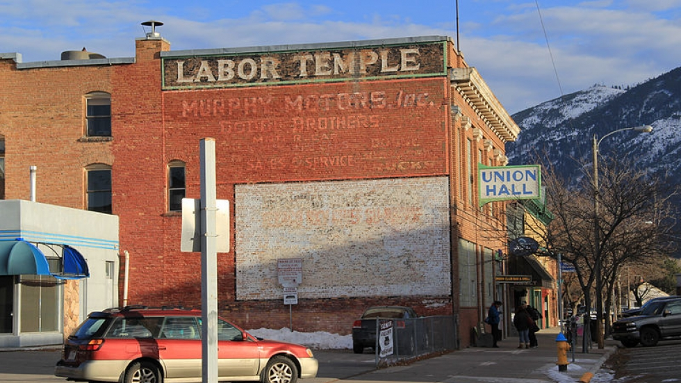 Labor Union Building in Montana