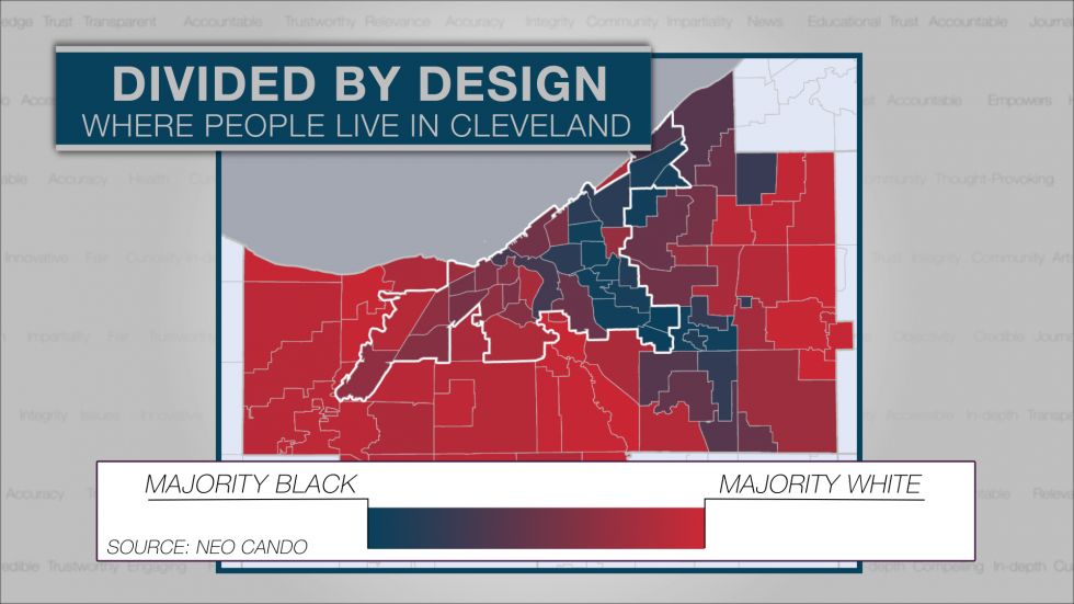 Where people live in greater Cleveland
